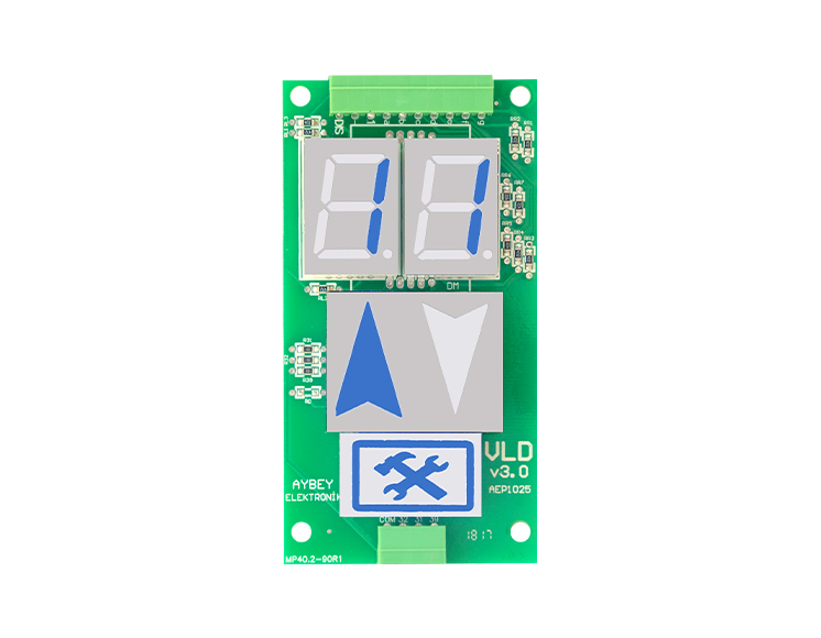 Dikey 7 Segment LED 61 Serisi