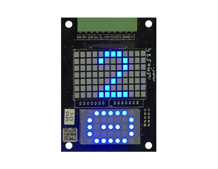 Dikey Dot Matrix LED